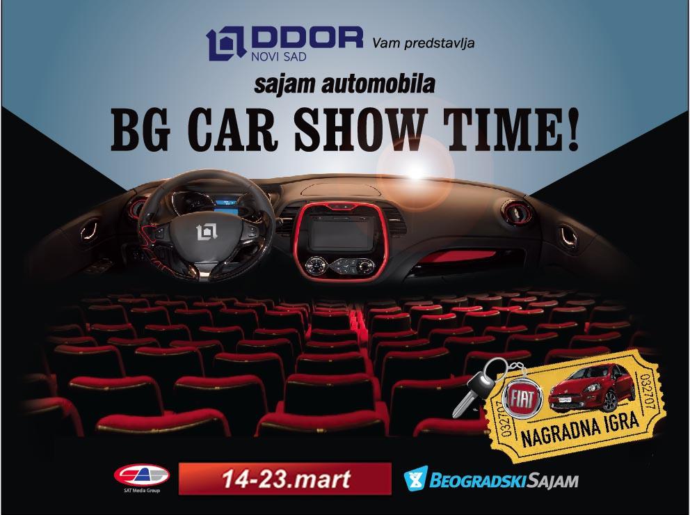 DDOR Car Show bilbord