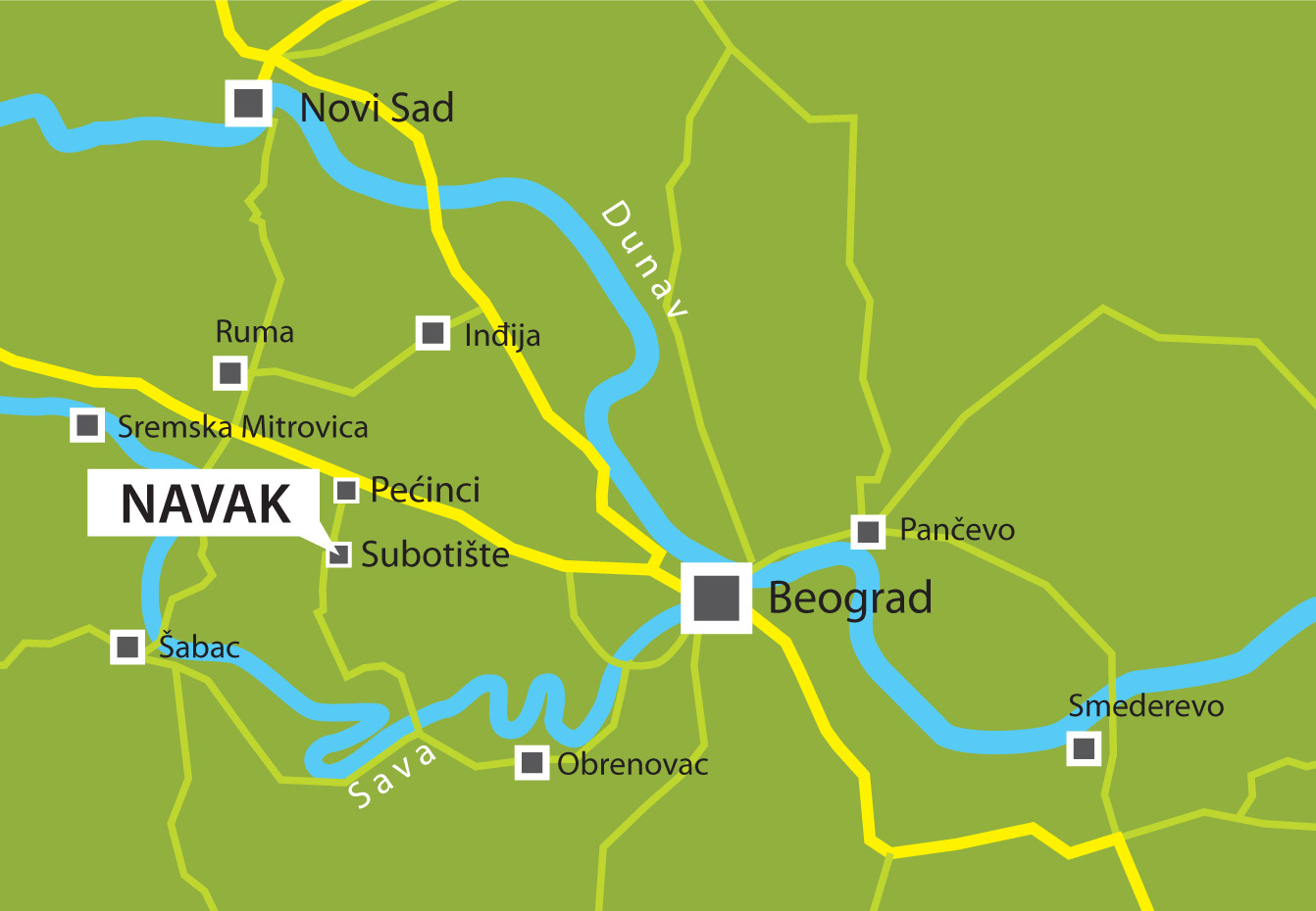 Map Navak Ddor Novi Sad Osiguranje