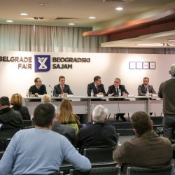 Beogradski sajam, DDOR BG CAR SHOW 05, konferencija za medije